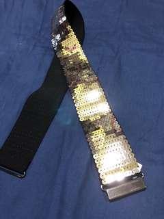 Sequinned belt