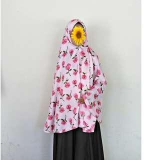 Jilbab Syari Motif
