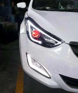 Hyundai Elantra LED Head Lamp