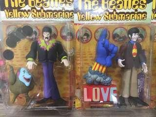 The Beatles Yellow Submarine McFarlane Figures Rare Original Mint In Box Collectibles