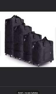 Brand New Expandable Trolley Travel Bag With Wheels Cabin Size 20 inches to 28 inches To Check In Bag