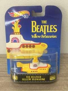 The Beatles Yellow Submarine Movie 50th Anniversary Special Edition Hotwheels Collectible