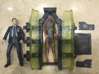 Action figure vintage: The X Files series 1 (Agent Mulder)