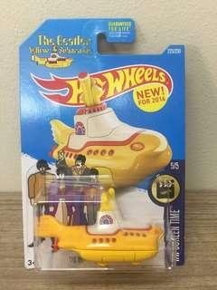 The Beatles Yellow Submarine 2016 Re-released Special Edition Hotwheels
