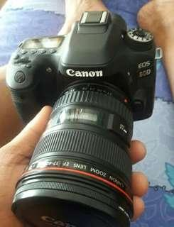 🚚 Canon 80d lensa 17-40mm L mulus garansi sampaimei 2019