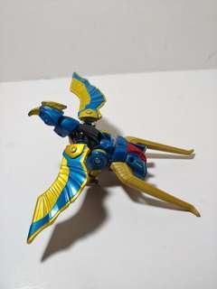 萬代 百獸戰隊 古代藍鷹