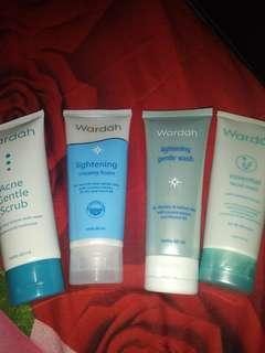 Facial Wash wardah isi 4