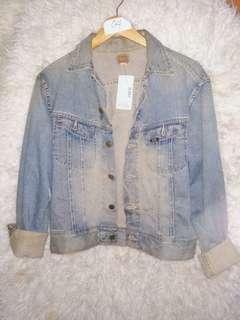 preloved jacket jeans