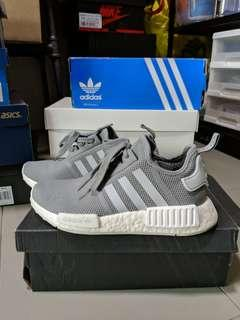 Price Firm : Us4.5 Adidas Boost NMD Grey mesh