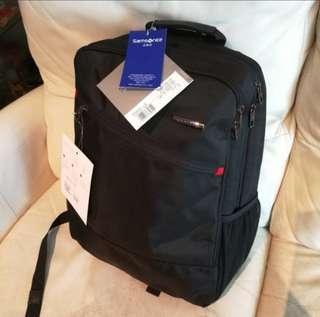 Samsonite backpack bag  新秀麗 背囊 背包 袋100% new 未剪牌 電腦袋 男女合用 computer bag