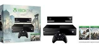 Xbox One bundle with Kinect