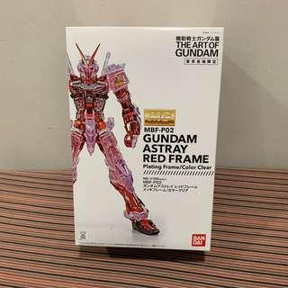 MG 1/100 MBF-P02 Gundam Astray Red Frame Art of Gundam Plating Frame/Color Clear