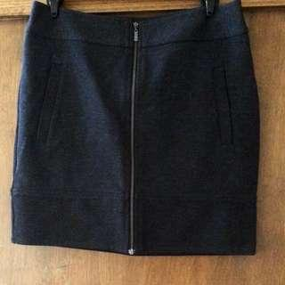 Cue size 8 Charcoal Grey Thick Skirt