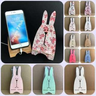 Bunny Mobile Handphone Charging Holder Deco Stand @sunwalker