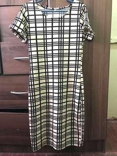 Unbranded Checkered Dress