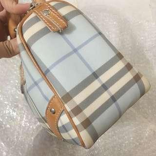 Authentic Burberry checked Handbag