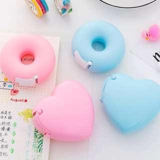Heart / Donut Tape Dispenser