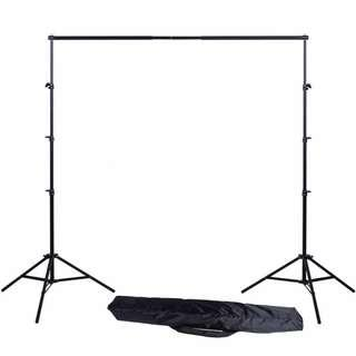 2.6m*3m Photo studio backdrop stand background stand for photobooth portrait photography