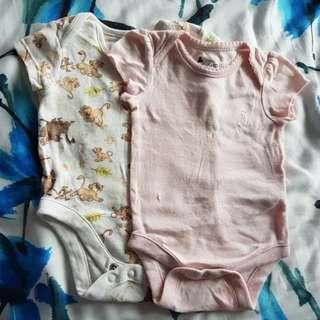 Clothing, Shoes & Accessories Hearty Bnwt Baby Girls Up To 1 Month Triple Pack Lovely Sleep Suits Bracing Up The Whole System And Strengthening It One-pieces