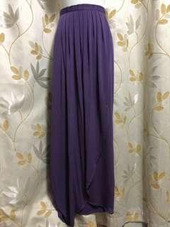 Pre💜 Mimpikita drape skirt