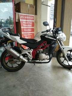 Motosikal promosi Demak Dzm200