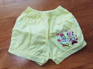 All 3 for $5: Disney Winnie-the-Pooh & Minnie Mouse Baby/Toddler Girl Shorts #single11