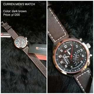 CURREN LEATHER WATCH