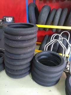 Tire slick motorcycle 115 and 100 size