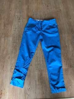 Papaya blue pants