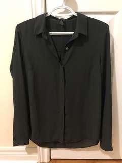 F21 chiffon blouse