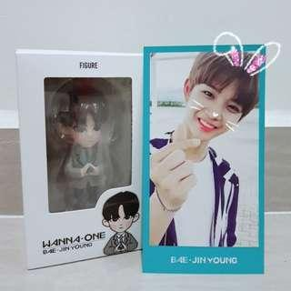 WANNA ONE BAE JINYOUNG OFFICIAL FIGURE
