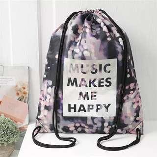 🆕H&M 尾單 backpack 背包 防水布袋