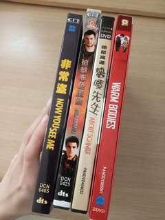 即日面交 $30 4 隻 DVD電影  $30 for all 一次過賣