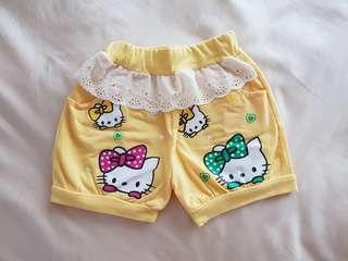 All For $3: Hello Kitty / Rabbit Baby/Toddler Girl Shorts #single11