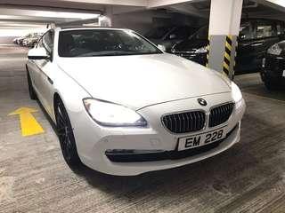 BMW 640I COUPE 2011