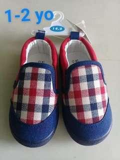 Baby Checkered Sneakers (14cm)