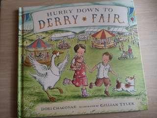 Derry Fair Hardcover Children book #SBUX50 #EVERYTHING18 #SINGLES1111