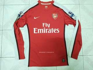 Arsenal long sleeve jersey player issue home 2008