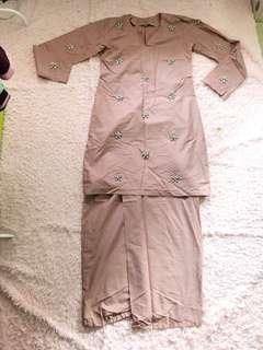 #SINGLES1111 Baju Kurung full beaded