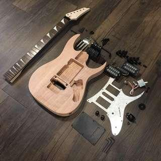 Build Your Own Guitar - Ibanez Style