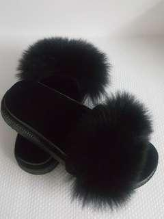 BN Fur Sandals/Slippers/Loafers