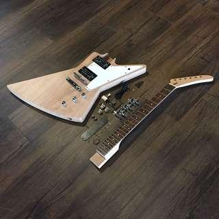 Build Your Own Guitar - Explorer Style
