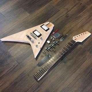 Build Your Own Guitar - V2 Style