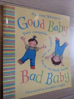 Good baby and Bad Baby 2 stories in 1 softcover children story book #SBUX50 #SINGLES1111