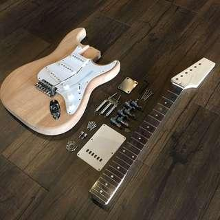 Build Your Own Guitar - Strat Style