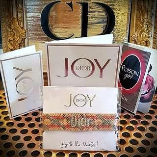 JOY by Dior promo gifts