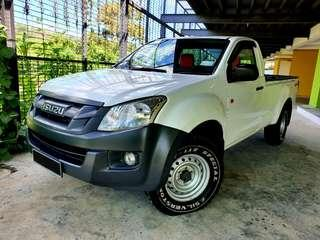 Isuzu D-MAX 2.5 VGS (M) Single Cab