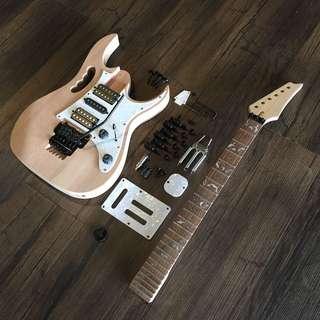 Build Your Own Guitar - JEM7V Style