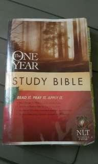 one year study bible