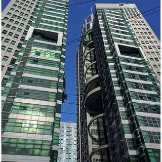 RUSH SALE !!! office space in symphony tower rent to own rfo office in qc timog as low as 300k dp move in